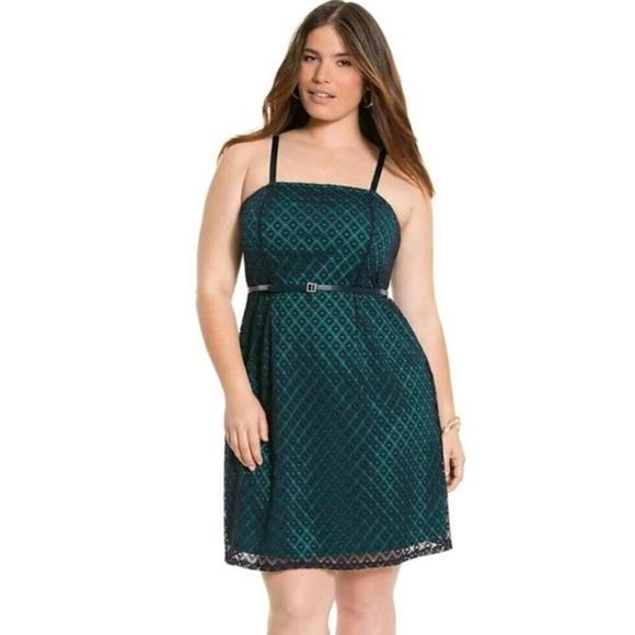 8b8cc99c9167c Lane Bryant Dresses   Womens Short Dress Plus Size 24 Blue   Poshmark